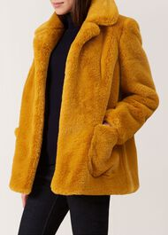 Mariana Coat, Ochre, hi-res