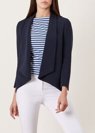 Tess Jacket, Navy, hi-res