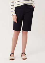 Bay Shorts With Stretch, Navy, hi-res