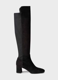 Imogen Over The Knee Boot, Black, hi-res