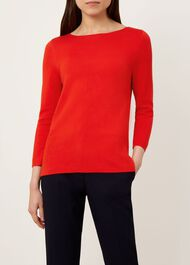 Cesci Sweater, Pomegranate, hi-res