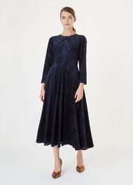 Neva Dress, Black Midnight, hi-res