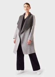 Gabriella Coat, Grey, hi-res