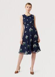 Julia Dress, Midnight, hi-res