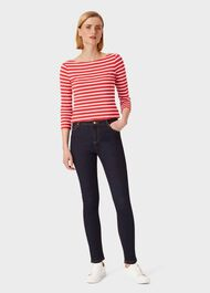 Marianne Skinny Jean With Stretch, Indigo, hi-res