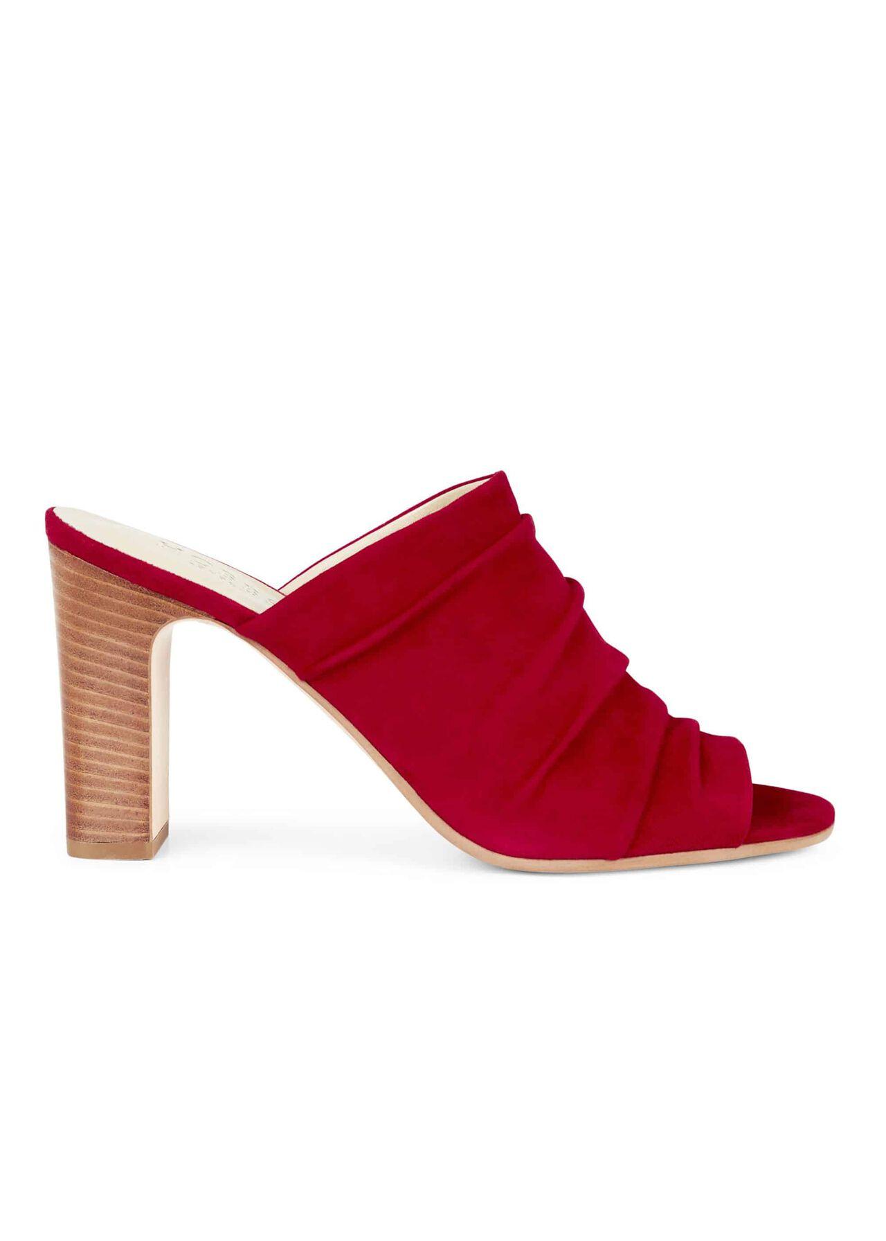 Rose Sandal Scarlet Red