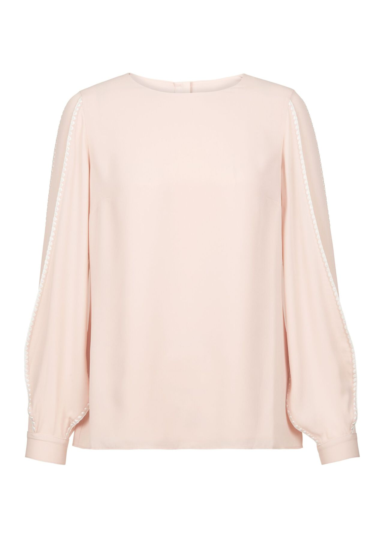 Gina Top Pale Pink Ivory