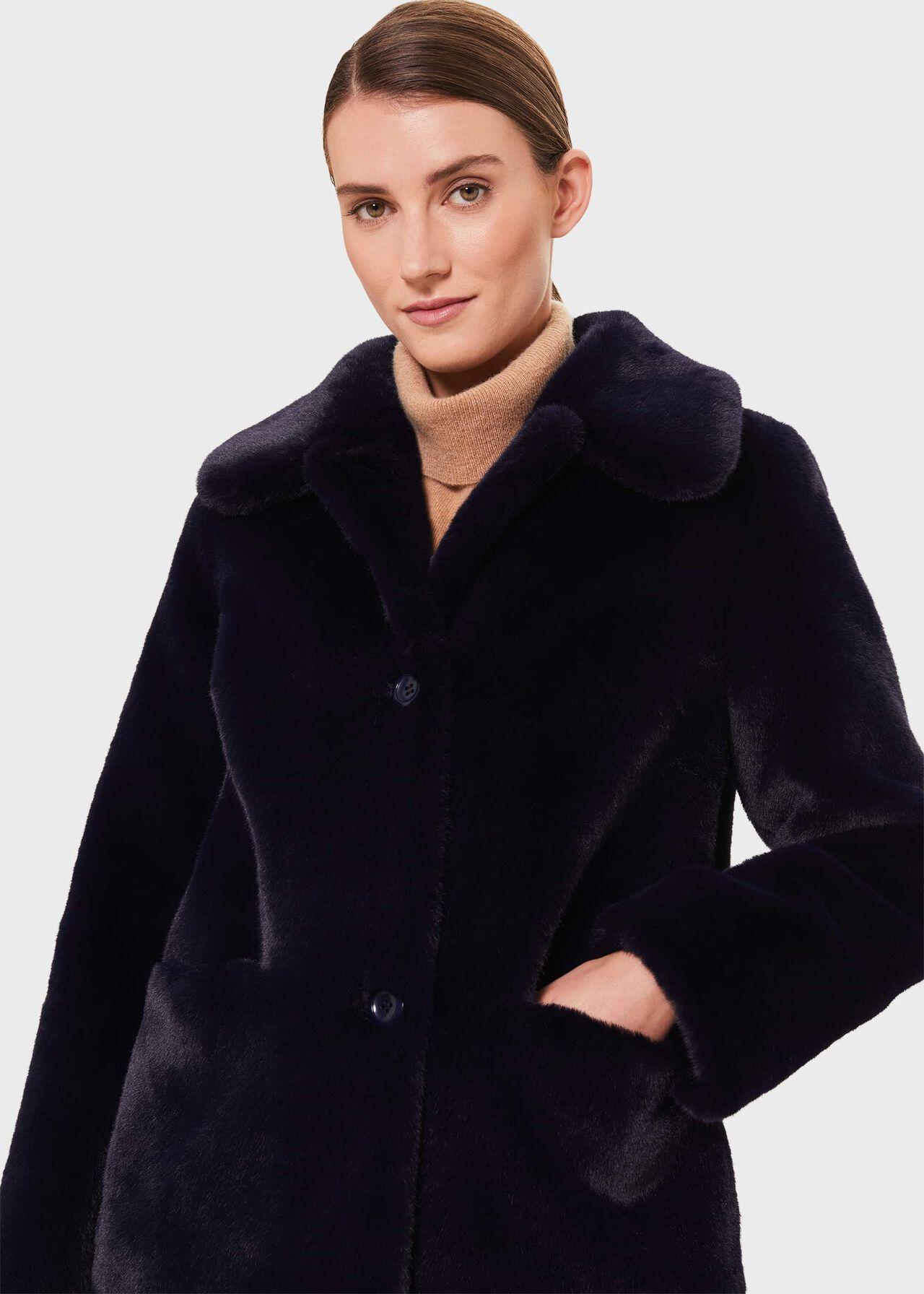 Monique Fur Coat, Midnight, hi-res