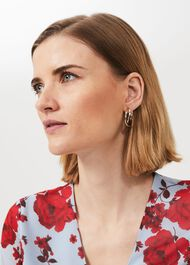 Beki Earring, Gold, hi-res