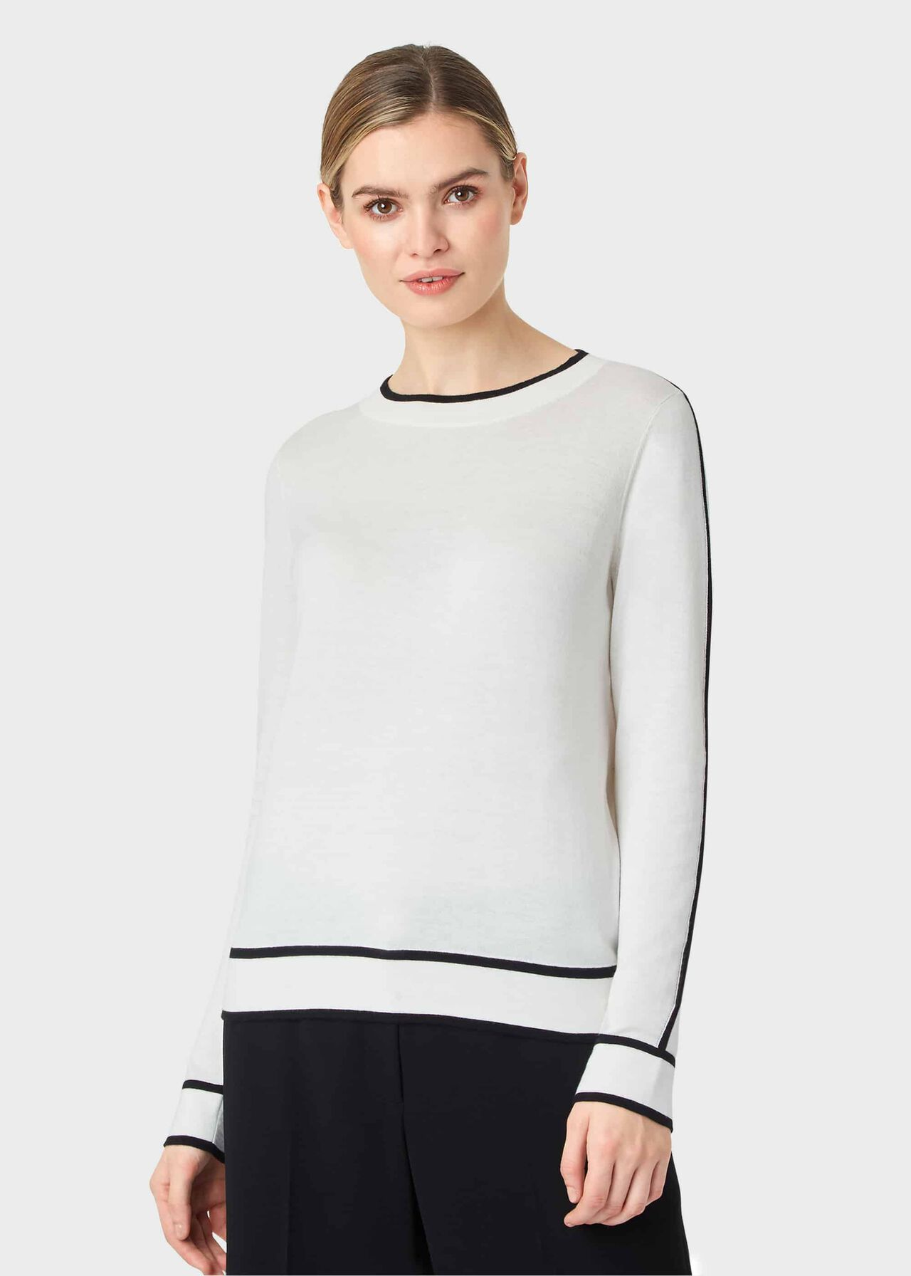 Hannah Sweater, Ivory, hi-res
