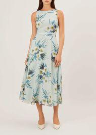 Carly Dress, Blue Multi, hi-res