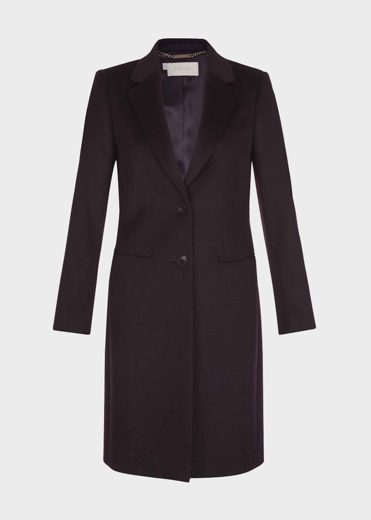 Tilda Wool Coat Bitter Choc