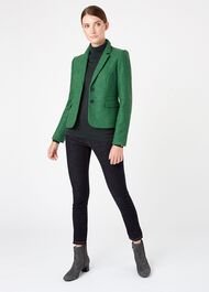 Hackness Wool Jacket, Pine Green, hi-res