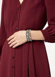 Bella Bracelet, Silver, hi-res