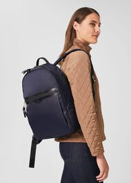 Chatham Nylon Backpack, Navy, hi-res