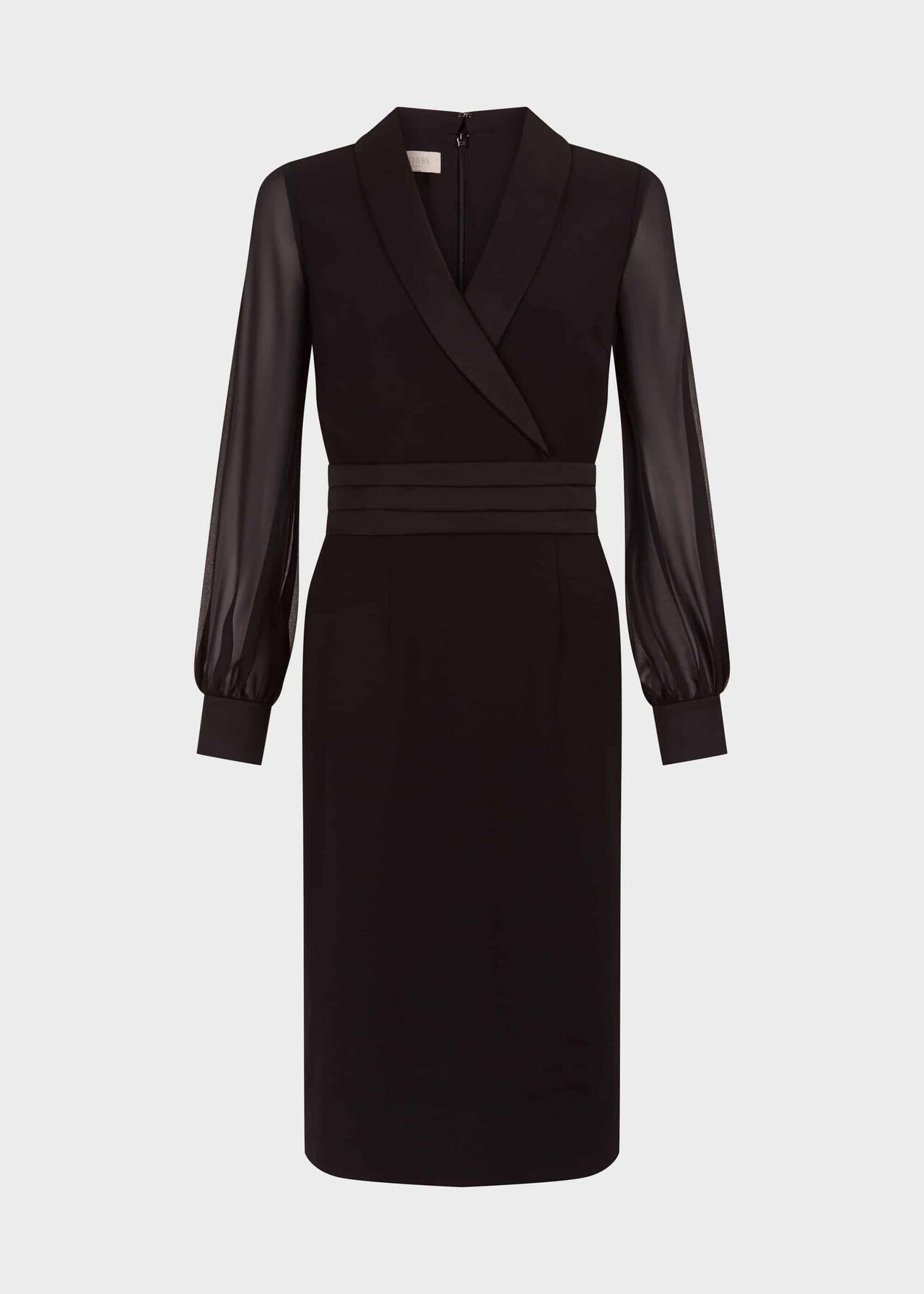 Fridah Tux Dress Black