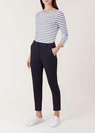 Nita Trousers, Navy, hi-res