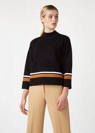 Annie Sweater, Black Vicuna, hi-res