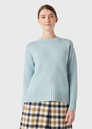 Ruby Sweater, Pale Blue, hi-res
