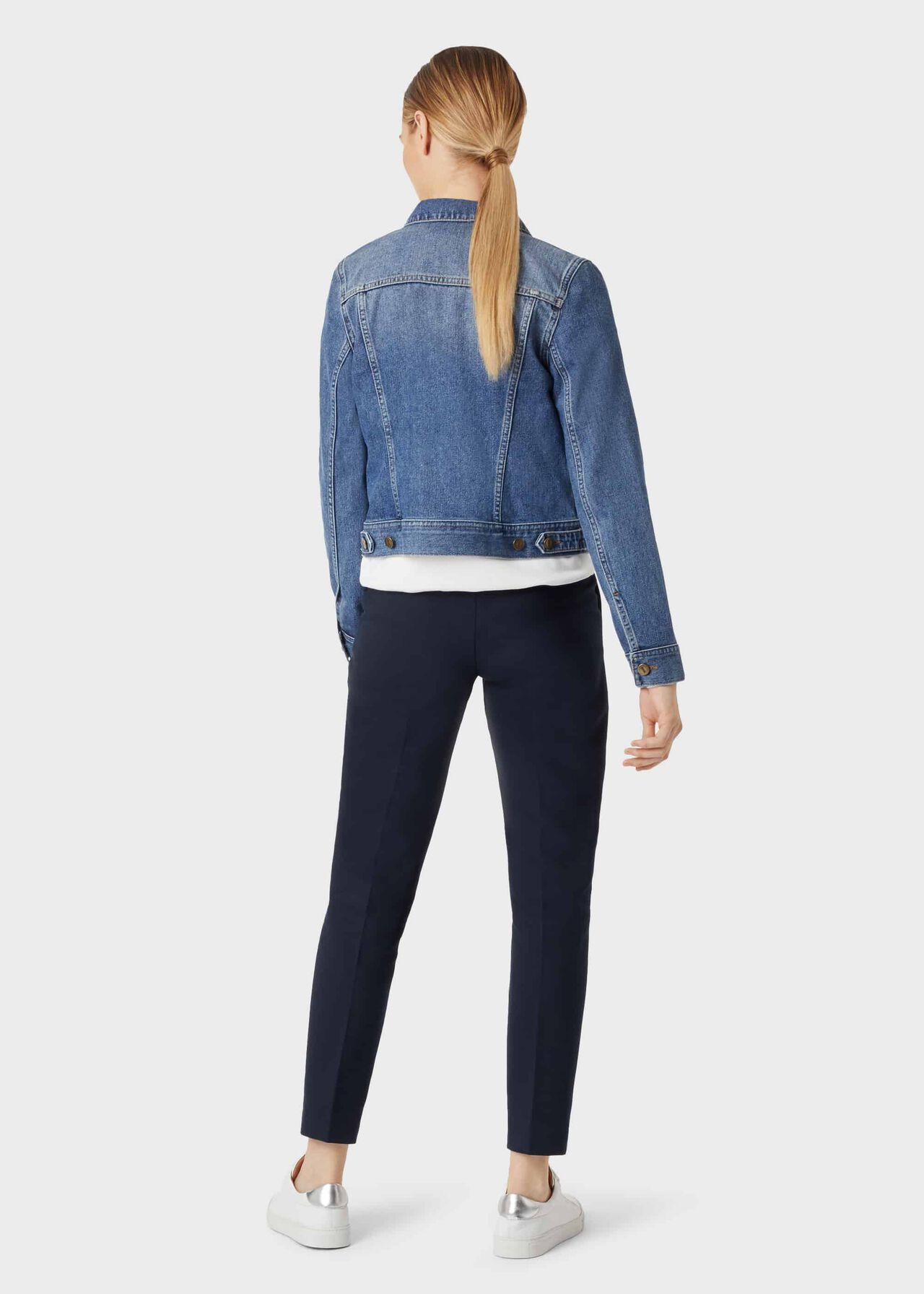 Mariam Jacket, Mid Blue, hi-res