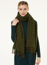 Hannah Scarf, Green Multi, hi-res