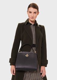 Highland Cross Body Bag, Black, hi-res