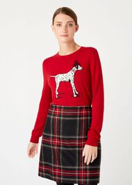 Riley Sweater, Red, hi-res