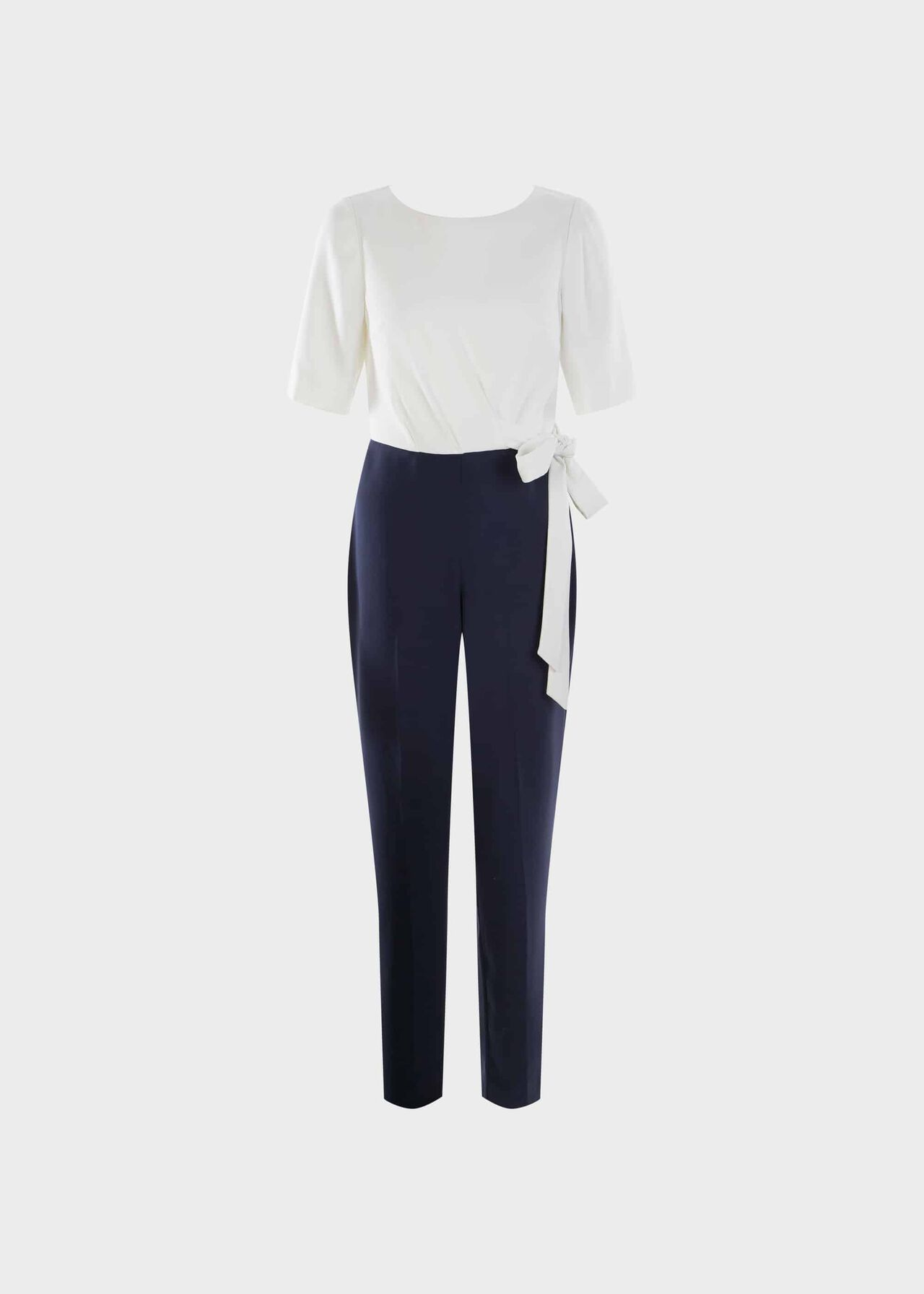 Petite Julianna Colourblock Jumpsuit Midnight Ivory