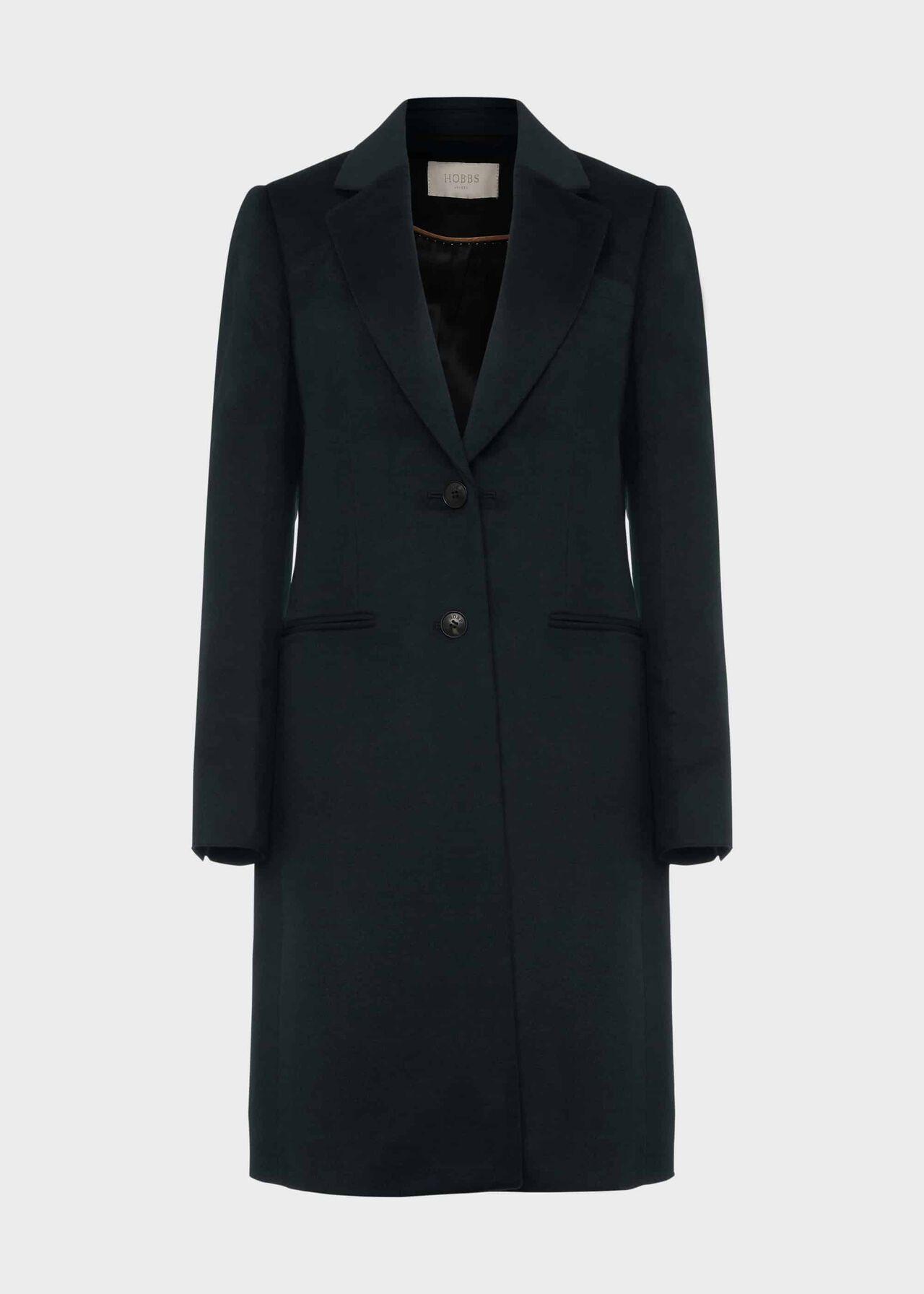 Tilda Wool Collar Coat Fern Green