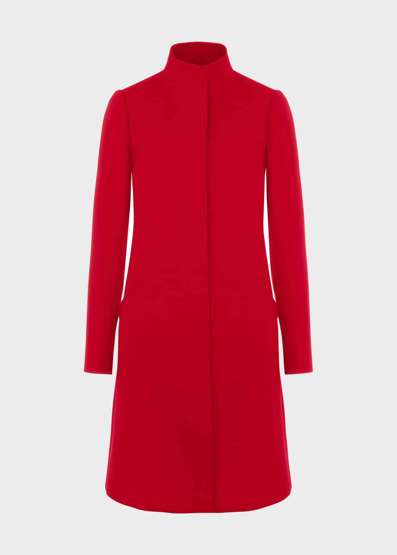 Mandy Wool Coat Red