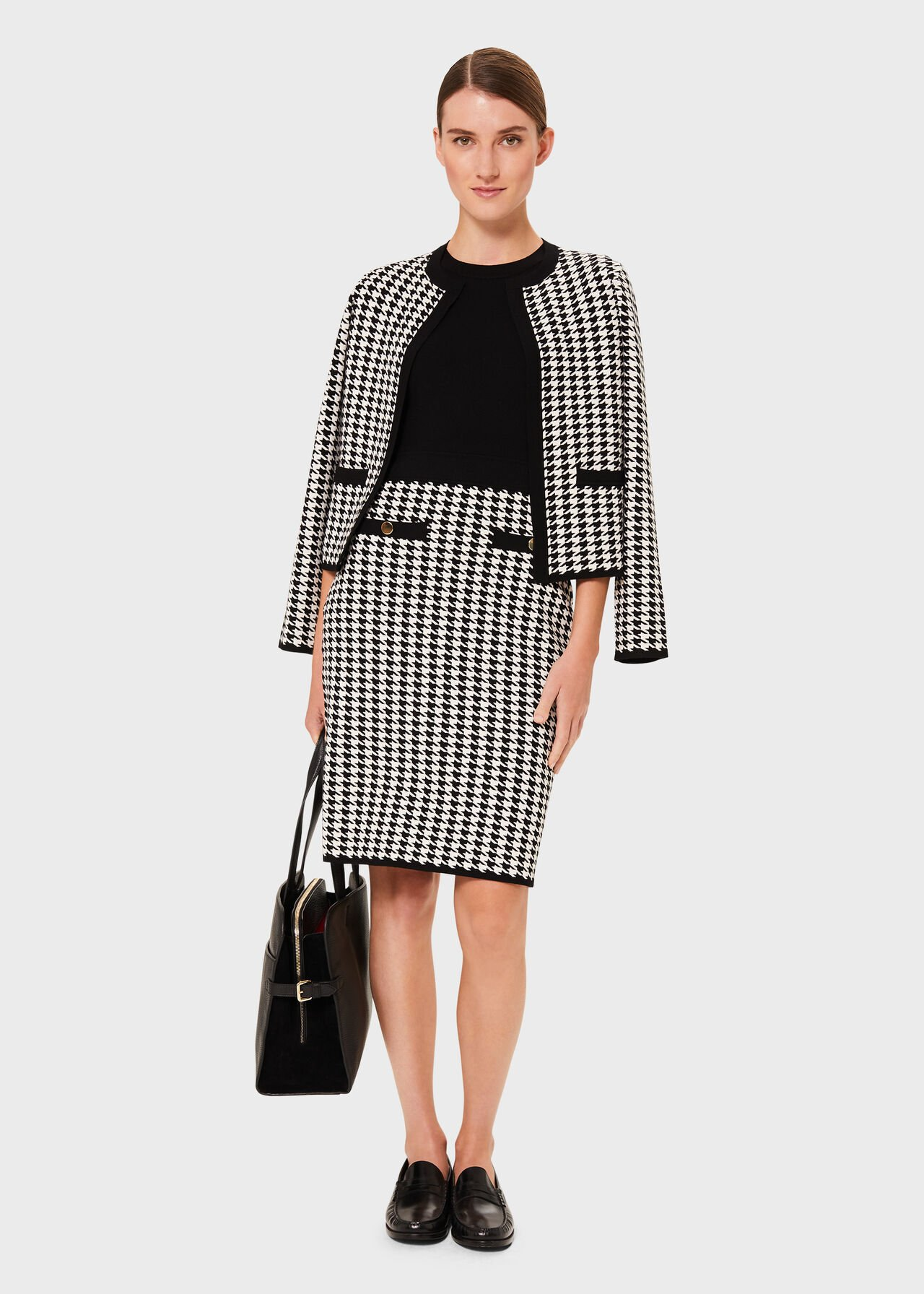 Alena Co-ord Knitted Dress Suit, , hi-res