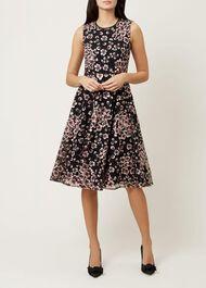 Lilith Dress, Pink Black, hi-res