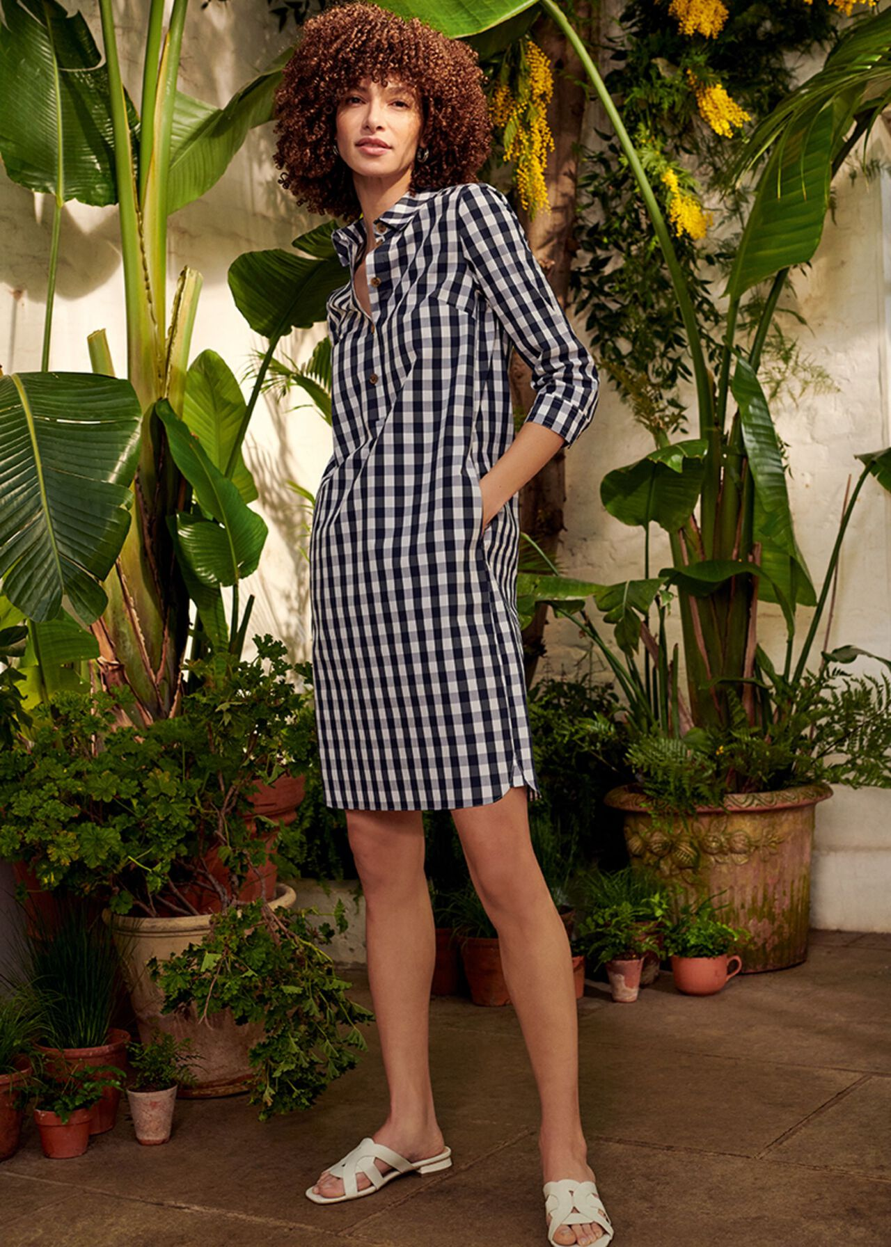 The Marciella Check Dress Outfit, , hi-res