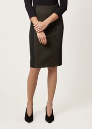 Miranda Skirt, Khaki Black, hi-res