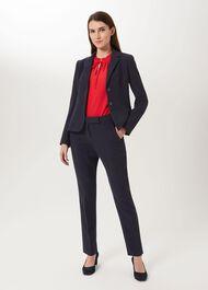 Leila Jacket, Navy, hi-res