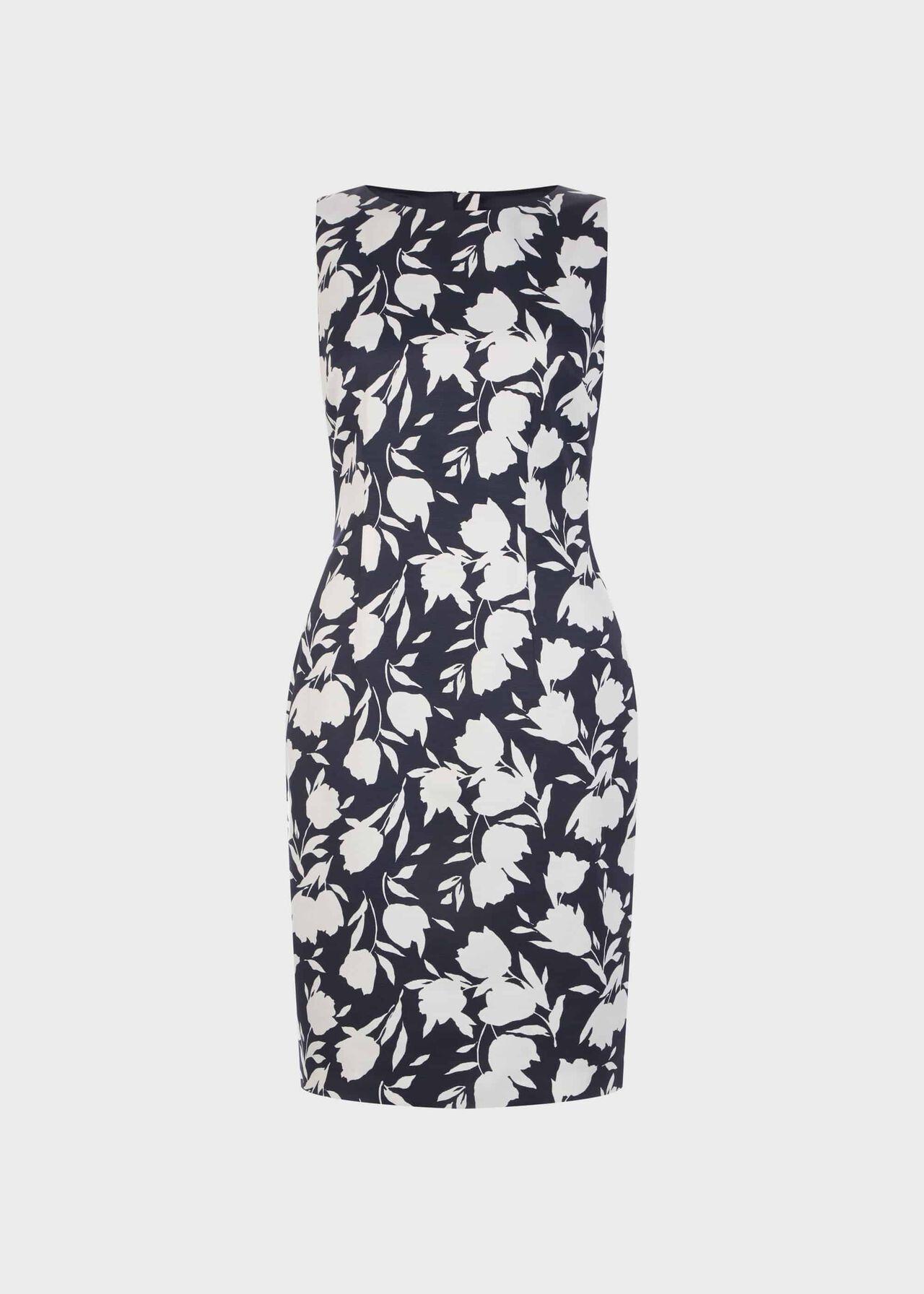 Moira Dress Midnight Ivory