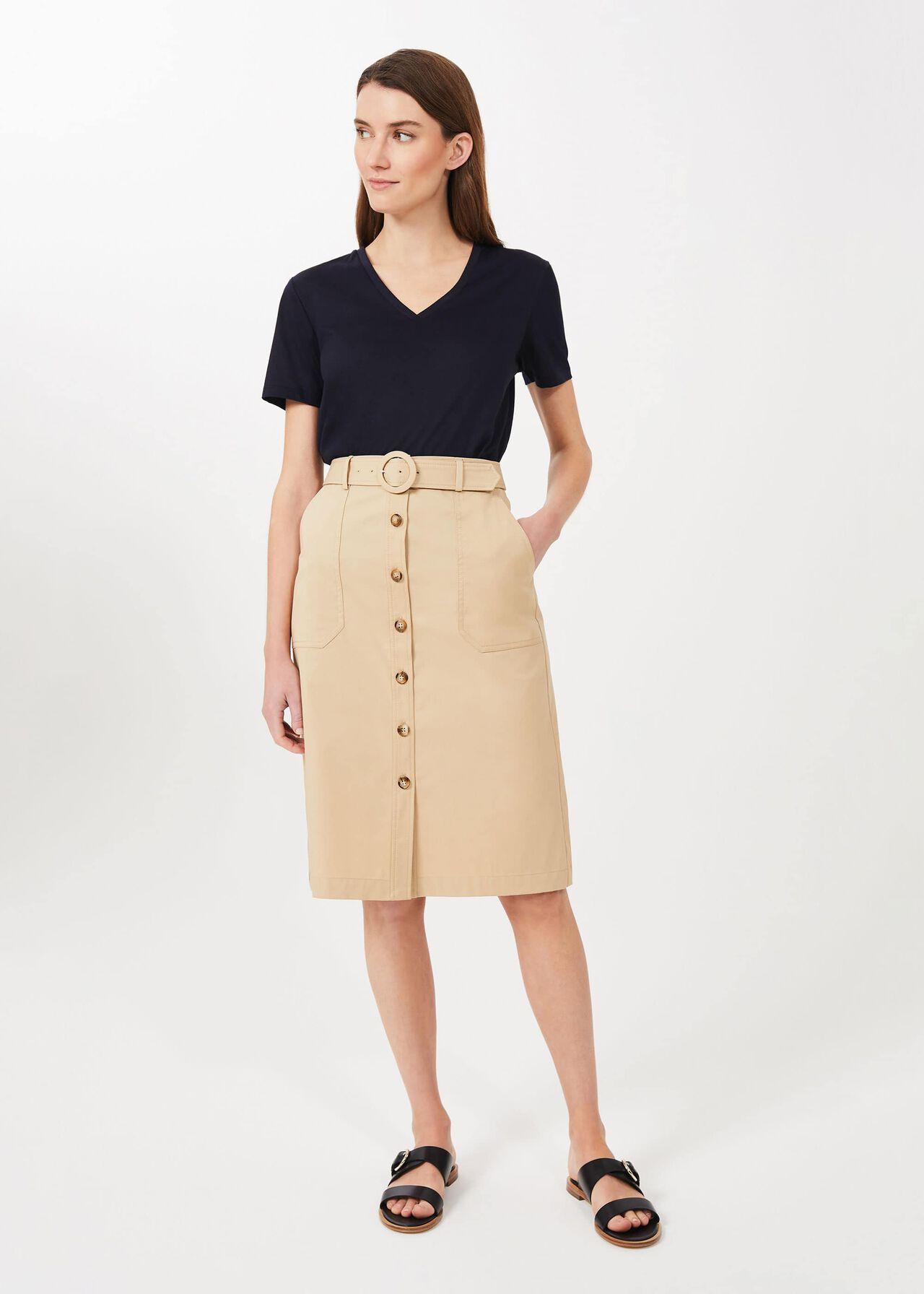 Adaline Skirt, Sand, hi-res