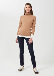 Amanda Skinny Jeans With Stretch, True Navy, hi-res