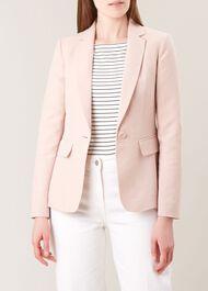 Trent  Silk Linen Blend Jacket, Vintage Petal, hi-res