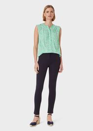 Lea Sculpting Jean With Stretch, Navy, hi-res