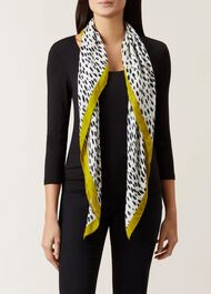 Tilly Scarf, White, hi-res
