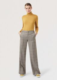 Mischa Roll Neck, Mustard, hi-res
