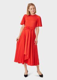 Leia Dress, Flame Red, hi-res