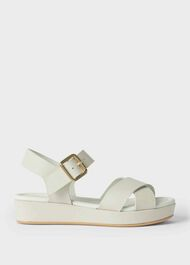 Hattie Sandal, White, hi-res