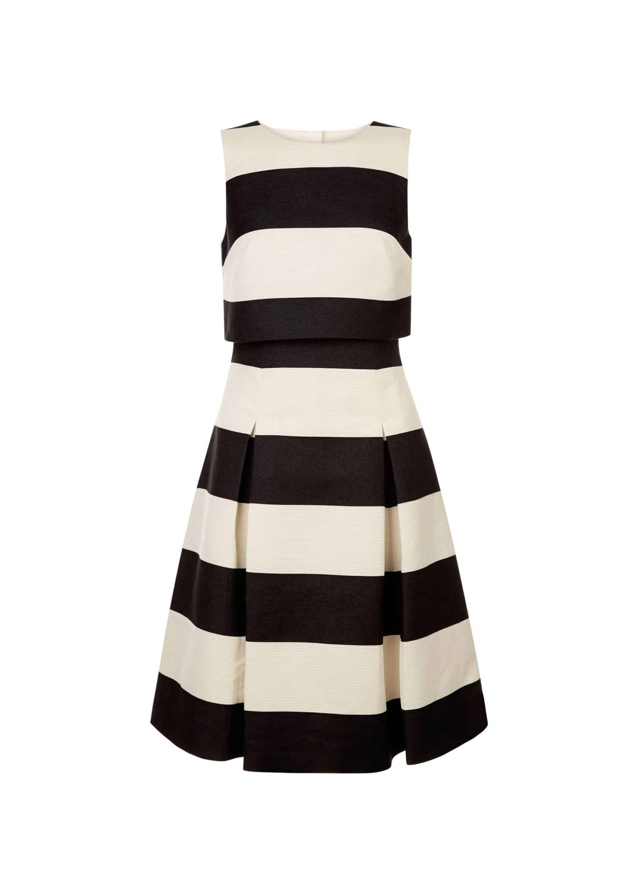 Emma Dress Black Ivory
