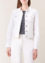 Mariam Jacket, White, hi-res