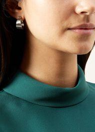 Sara Earrings, Silver, hi-res