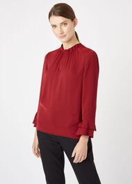 Misha Top, Burgundy, hi-res