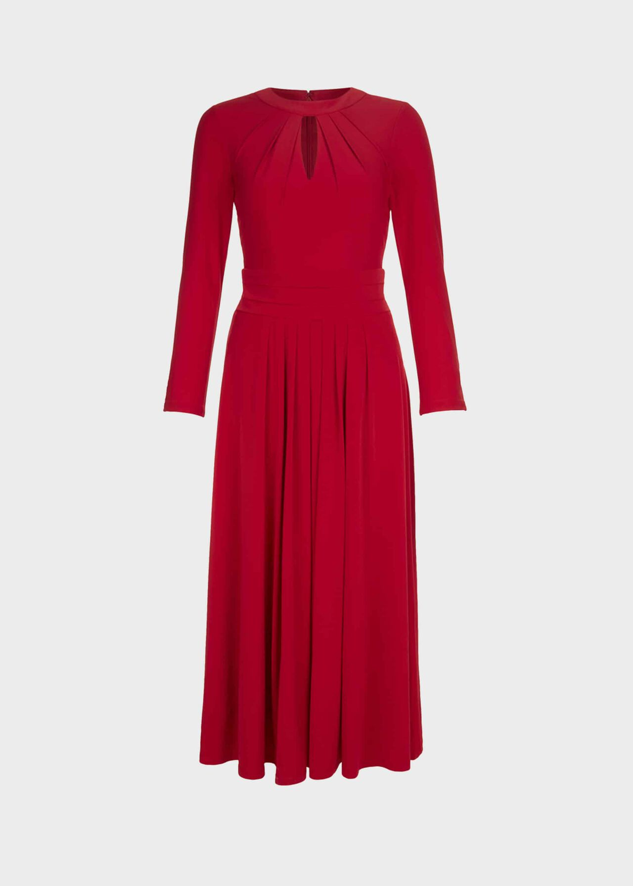 Suri Jersey Fit And Flare Dress Red