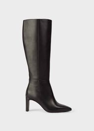 Alma Leather Knee High Boots, Black, hi-res